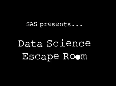 SAS lanceert 's werelds eerste Data Science Escape Room