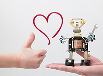 Robot Love; will you be my Valentine?